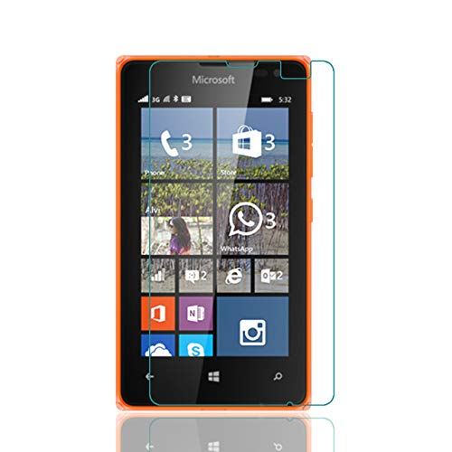 WE-CARE Unbreakable Screen Protector for Microsoft Lumia 532 Better Than Tempered Glass with Impossible Anti Shock and Hammer Proof Protection