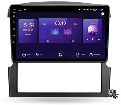 Android 9.1 GPS Navigation Stereo Radio para Kia Sorento BL 2002-2011, 9' Pantalla Coche Media Player Soporte Carpaly/5G FM RDS/Control Volante/Bluetooth Hands-Free