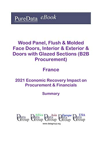 Wood Panel, Flush & Molded Face Doors, Interior & Exterior & Doors with Glazed Sections (B2B Procurement) France Summary: 2021 Economic Recovery Impact on Revenues & Financials