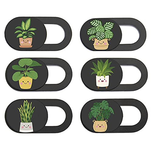 MESMOS Laptop Camera Cover Slide Cute - Webcam Cover Slide Cute - Phone Camera Blocker - Webcam Privacy Cover - Fits Most iMac, iPhone, Computer, MacBook Pro, MacBook Air, Surface Pro, Cell Phones