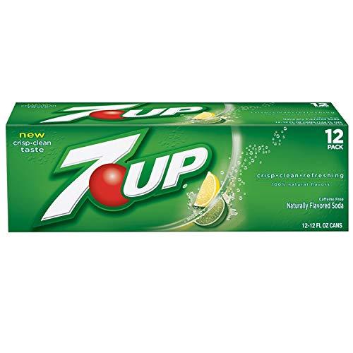 7-Up Lemon Lime Soda, 12 Ounce (12 Cans)