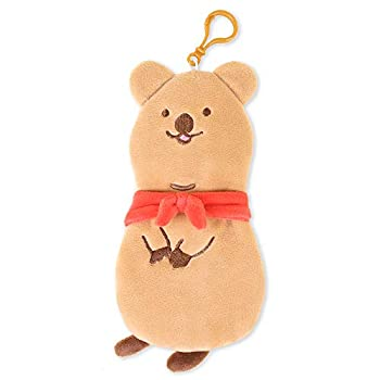 COCOKA Plush Quokka Pencil Case Cute Animal Pencil Pouch Stationery Stuffed Pencil Pouch Aesthetic Pen Case with Zipper Stationery Art Supplies College Office Pen Holder Cosmetic Pouch