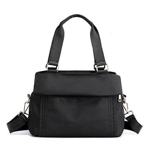 Women's Handbag Shoulder Bag, Women's 3 Layer Zipper Shoulder Crossbody Bag Ladies Shopper Tote Handbag Fashion Casual Travel Top Handle Satchel Daily Purse Classic Lady Stylish Work B