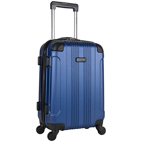 Kenneth Cole Reaction Out Of Bounds 20-Inch Carry-On Lightweight Durable Hardshell 4-Wheel Spinner Cabin Size Luggage, Cobalt Blue
