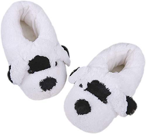 SLM-max Zapatillas Unisex,de Felpa cálidas, para Perros, de Animales cálidas de Invierno de algodón (Color: Cierre, Tamaño: 4.5/6.5 UK)
