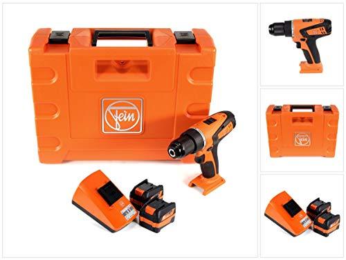 FEIN ABSU 12 Select accu-boormachine 12V 20Nm + 2x accu 6,0Ah + oplader + koffer