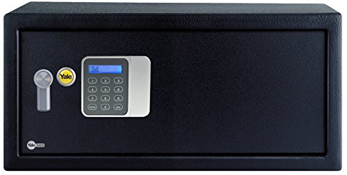 Yale YLG/200/DB1 Caja Fuerte Básica Hotel para Portátil, Laptop 200 x 430 x 350 mm