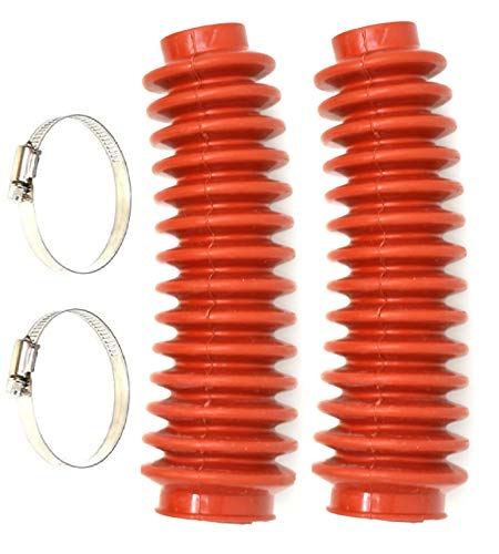 Aftermarket Red Shock Absorber Boot Cover, JSP Brand Replaces ROU-87150 for Rough Country Lifted 4x4 Jeep ORV Universal