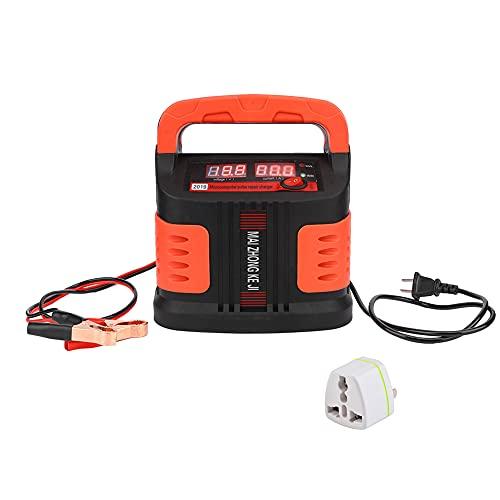 WRNM Cargador De Batería De Coche LCD Máquina De Reparación De Pulsos para Camión De Automóvil 350w Conector (110v)
