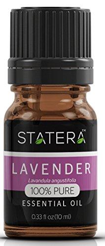 STATERA Lavender Essential Oil (Lavandula angustifolia) 100% Pure Undiluted Essential Oil -10 ml