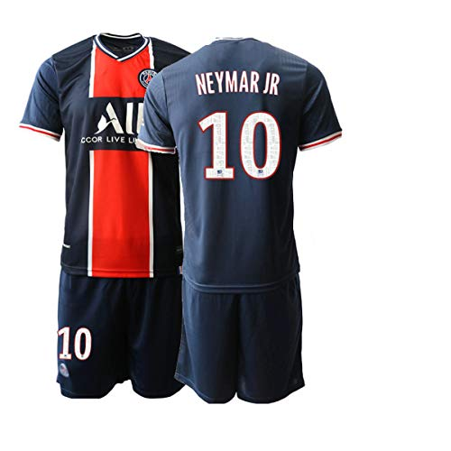 JEEG 20/21 Herren NEYMARJR 10# Fußball Trikot Fans Jersey Trainings Trikots (S)
