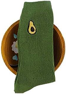 Weichuang - Calcetines cortos de algodón para mujer (color: 2)