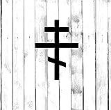 H421ld Símbolo de cruz ortodoxa rusa – coche, camión, hogar, portátil, computadora, teléfono calcomanía