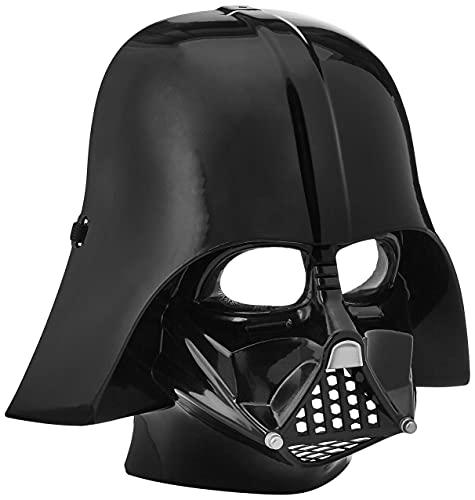 Star Wars - Media máscara de Darth Vader para niños, talla única 4-8 años...