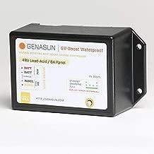 Genasun GVB-8-Pb-48V-WP, 8A 48V Waterproof Solar Boost MPPT Charge Controller for Lead Acid Batteries
