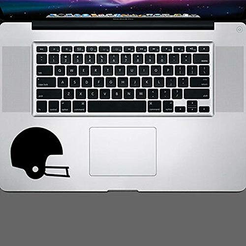 myrockshirt Football Helmet Trackpad Sticker Notebook MacBook Laptop Funny Sticker Decal Car Sticker UV & Car Wash Proof Professional Quality Wall Sticker