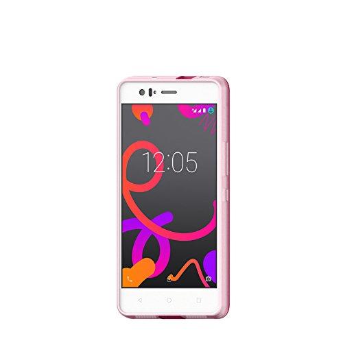 BQ E000585 Tasche für M5.5 Gummy rosa