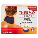 Thermo Therapy Fascia Regolabile per Dolore Cervicale - 1 Confezione con 4 Fasce