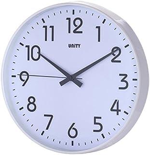 Unity Fradley - Reloj de pared silencioso, moderno, 30 x 30