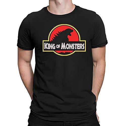 Geek me that Godzilla Kaiju King of Monsters T-Shirt Roi des Monstres Japonais Gojira Cinema Blockbuster Film Shirt (2. Medium, Unisexe Premium)