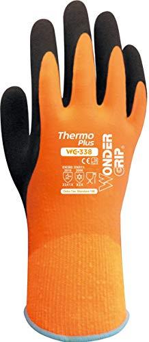 Wonder Grip WG-338 Thermo Plus Grösse M/08 Wasserdichte Handschuhe mit Kälteschutz