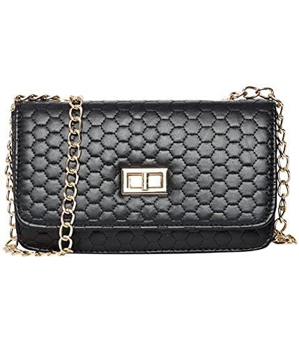 ADISA Women's Sling Bag (SL5067-BLA_Black)