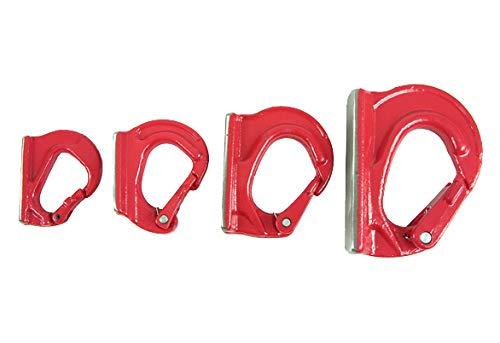 ProFix® Anschweißhaken Güteklasse 8 Bagger Lasthaken Baggerhaken Löffel Frontlader Haken (1 t, gelb)