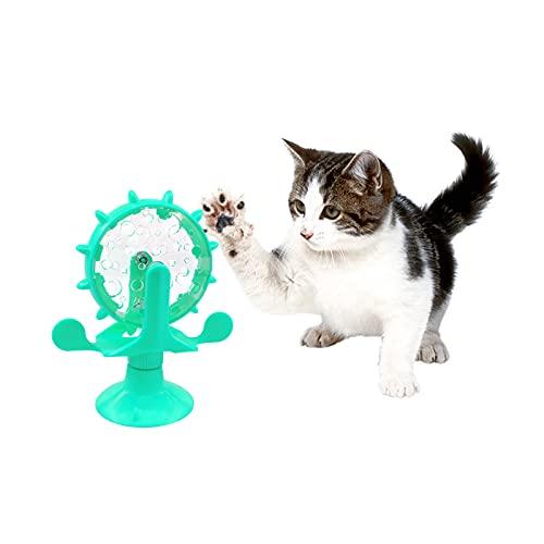 FuninCrea Juguetes Educativos Interactivos para Perros,Juegos Mentales de Entrenamiento para Perros y Juguete de Comida de Fugas Lentas para Mejorar el Coeficiente Intelectual de Cachorros (Azul)