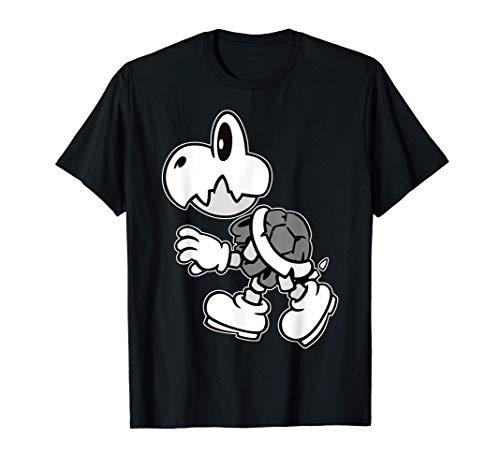 Nintendo Super Mario Dry Bones Profile Graphic T-Shirt T-Shirt