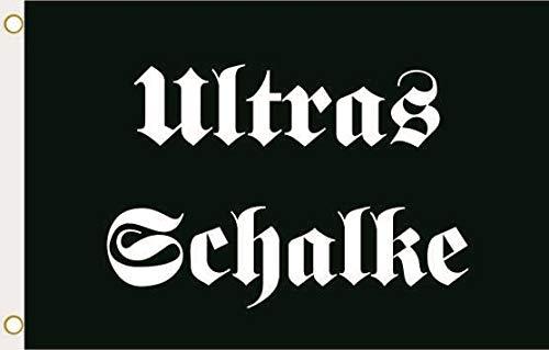 U24 Flagge Fahne Ultras Schalke 90 x 150 cm