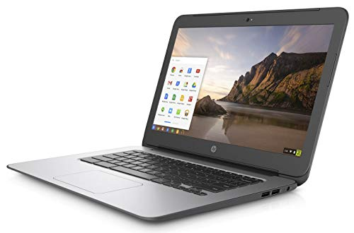 "BLACK HP CHROMEBOOK 14"" G4 INTEL CELERON N2840 2.16 GHZ 4GB RAM 16GB SSD WEBCAM CHROME OS (Renewed) 5"