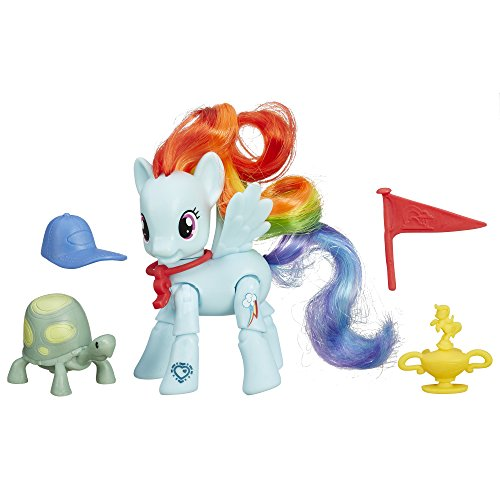 My Little Pony Friendship is Magic Rainbow Dash Winning Kick