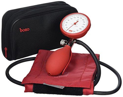 boso 50.08.113red clinicus Aneroid Blutdruckmessgerät (50.08.113)–Rot