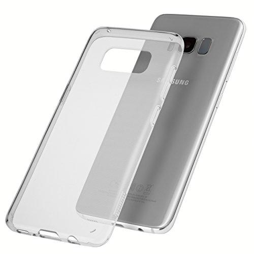 mumbi Hülle kompatibel mit Samsung Galaxy S8 Handy Case Handyhülle dünn, transparent