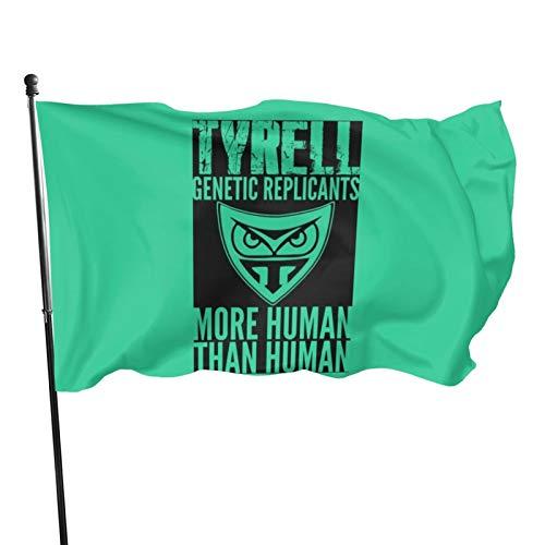 Lsbury Tyrell Genetic Replicants More Human Than Human Polyester Flag - Banner