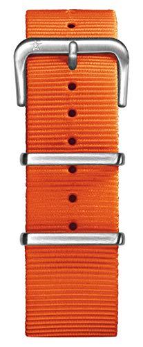 Oxygen-Nylon, Unisex, Orange, mit Schnalle, 22 cm