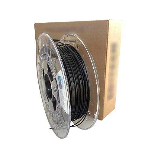 3D Printer Filament - ST 700 Carbon Fiber Filament Black - 1.75 mm - Weight 500 g. - 3D Printing