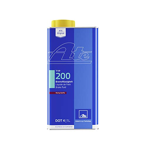 ATE Original TYP 200 Racing Quality DOT 4 Brake Fluid, 1 Liter Can