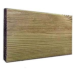 TARIMAS DE MADERA tratada, ideales para cualquier tipo de construcción. (2,8 x 12,5 x 300 cm)