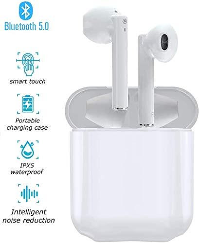 classement un comparer Casque Bluetooth 5.0, casque Bluetooth sans fil, chaîne hi-fi stéréo 3D, microphone intégré, casque…