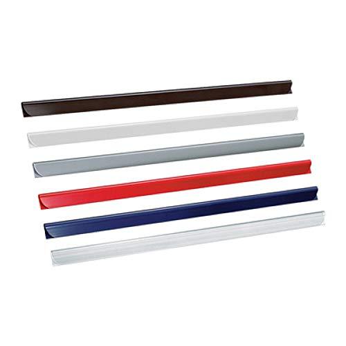 Leitz 21770 - Varilla para sujetar fundas archivadoras (50 unidades), transparente