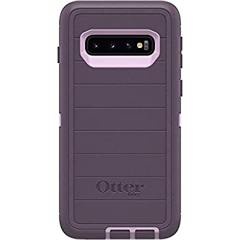 OtterBox Defender Series Microbial Defense Case for Samsung Galaxy S10 - Case Only Bulk Packaging - Purple Nebula  Winsome Orchid/Night Purple