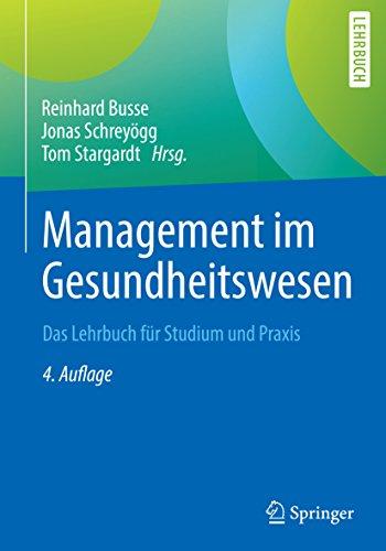 41MenXApGVL - Management im Gesundheitswesen: Das Lehrbuch für Studium und Praxis (German Edition)