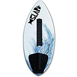 small Slapfish 50 ″ fiberglass and carbon skimboard – no rider weight limit – with deck handle –…