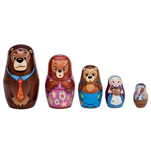 Schylling Goldilocks Nesting Dolls