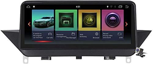 LYHY Qualcomm Android 10 Navigazione per Auto Radio GPS per BMW X1 E84 2009-2015 con Display da 10,25'Carplay Integrato Supporto DSP Schermo diffuso/Riproduzione multimediale Stereo