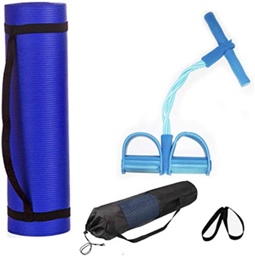 Estera de ejercicio de yoga para el hogar y el gimnasio, antideslizante, alfombrilla gruesa para gimnasio, se puede plegar # 2