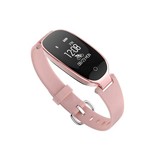 Fitness Tracker Slimme Armband Met Hartslagmeting Dames Sport Waterdicht Bluetooth Draagbare Stappenteller Gezondheid Horloge