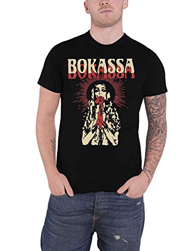 Bokassa T Shirt Walker Texas Danger Band Logo Officiële Mens Zwart XXL