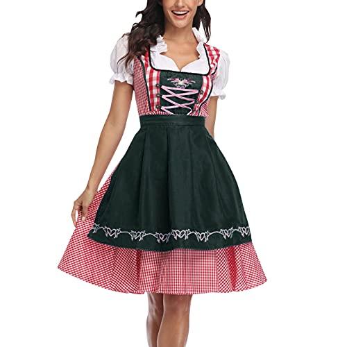 NISOWE Disfraz de maz para mujer, Halloween, Oktoberfest, escultura, escenario, cosplay, disfraz de maz, G, S